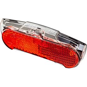 Axa Slim Steady Feu arrière LED, black/transparent